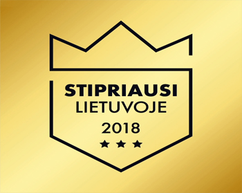 Stipriausi Lietuvoje 2018